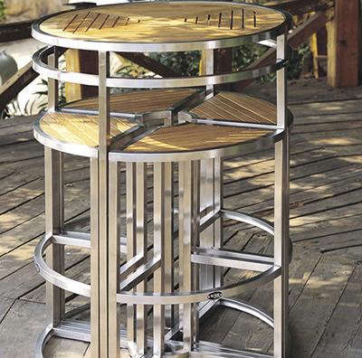 Decoraci n mueble todo en uno de dise o para terraza de for Z furniture las vegas