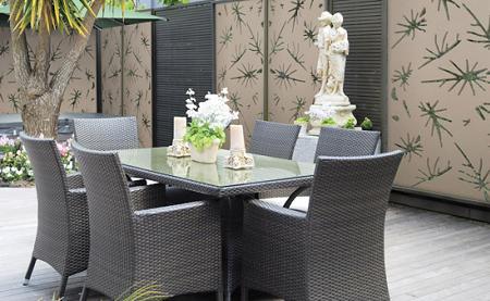 Decoraci n biombos y paneles para tu jard n - Paneles decorativos para exterior ...