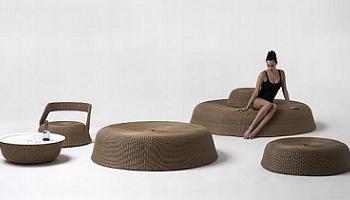 Muebles modulares de dise o para la terraza decoraci n for Sofa exterior hipercor