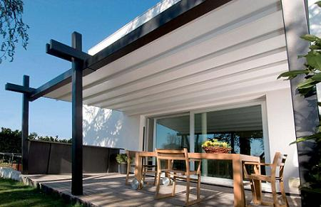 prgola de aluminio de greendesign - Pergolas Terraza