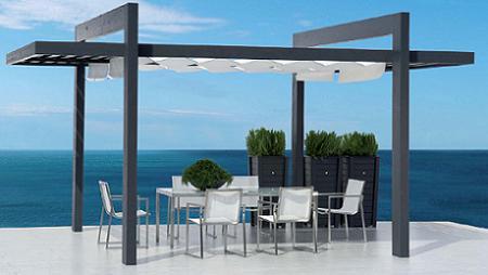 Ideas para crear un comedor de verano en tu terraza - Pergolas hipercor ...