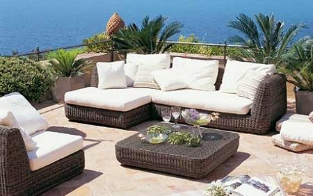 Decoraci n las principales tendencias en muebles de - Comedores exteriores para terrazas ...