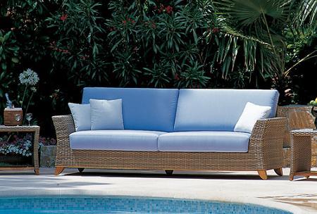 50 muebles de rattan para tu terraza o jard n verano 2009 - Cojines para sillones de jardin baratos ...