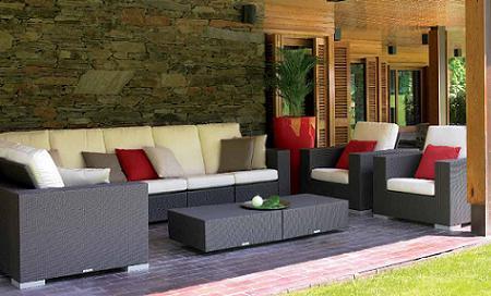 50 muebles de rattan para tu terraza o jard n verano 2009 for Muebles de exterior de rattan