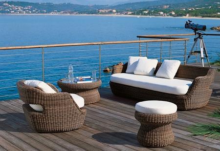 Las principales tendencias en muebles de exteriores 2009 for Muebles de exterior para terrazas