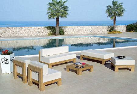 50 muebles de teca para tu jard n o terraza verano 2009 for Muebles para terraza en madera