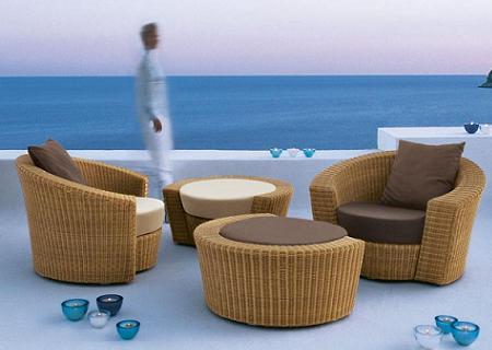 15 ejemplos de salones de verano con estilo decoraci n for Sofa exterior hipercor