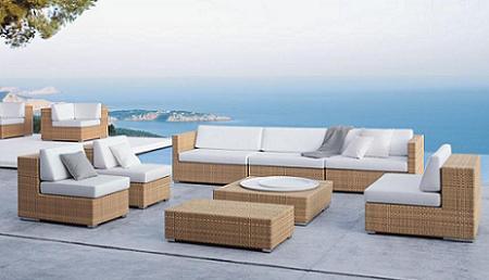 50 muebles de rattan para tu terraza o jard n verano 2009 for Sofa mimbre terraza