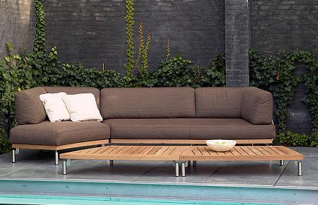 50 muebles de teca para tu jard n o terraza verano 2009 for Sofa exterior hipercor