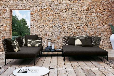 Muebles de exterior sofisticados para crear una zona de for Sofa exterior hipercor