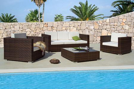 50 muebles de rattan para tu terraza o jard n verano 2009 for Ofertas muebles de terraza