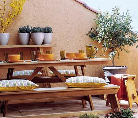 10 ideas para terrazas decoraci n for Ideas para decorar terrazas de pisos