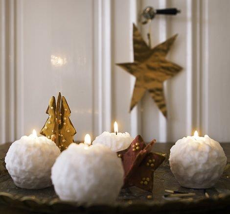 velas  de Ikea Navidad 2015
