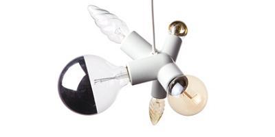 lámpara de techo de diseño, clusterlamp de Moooi