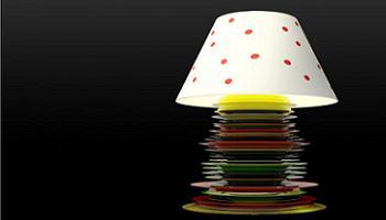 lámpara Plato