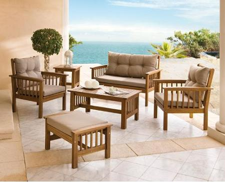 Decoraci n muebles de jard n carrefour for Muebles de jardin en aluminio