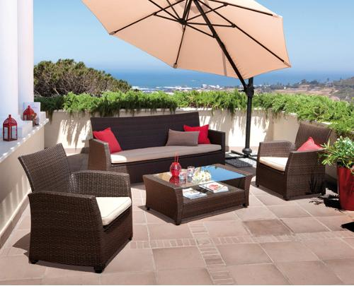 Decoraci n muebles de jard n carrefour for Muebles ratan jardin