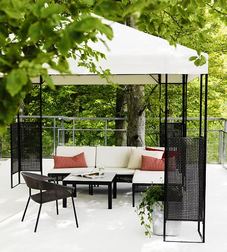 pergolas jardin ikea images. Black Bedroom Furniture Sets. Home Design Ideas
