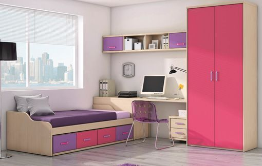 Decoraci n muebles la factor a - Dormitorio de ninas ...
