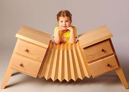 Los muebles imposibles de straight line designs decoraci n - Wooden art mobili ...