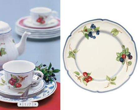 Charms breakfast and cottages on pinterest - Villeroy boch vajillas ...