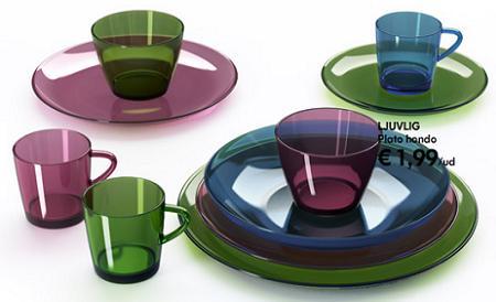 Vajillas copas y accesorios para llenar tu mesa de - Vajillas ikea 2016 ...