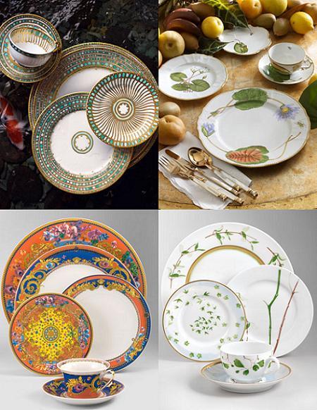 Vajillas copas y accesorios para llenar tu mesa de for Catalogo de vajillas