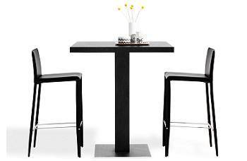 M s ideas para crear un office en una cocina peque a mesa - Mesa alta con taburetes ...