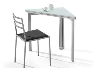 Mesas para la cocina propuestas modernas y pr cticas for Mesas esquineras modernas