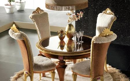 Decoraci n 5 mesas de comedor redondas for Alta moda furniture italy