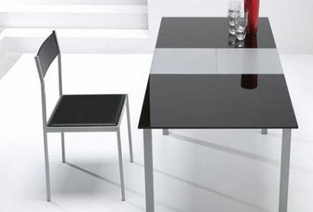 Mesas para la cocina propuestas modernas y pr cticas - Vajilla cuadrada carrefour ...
