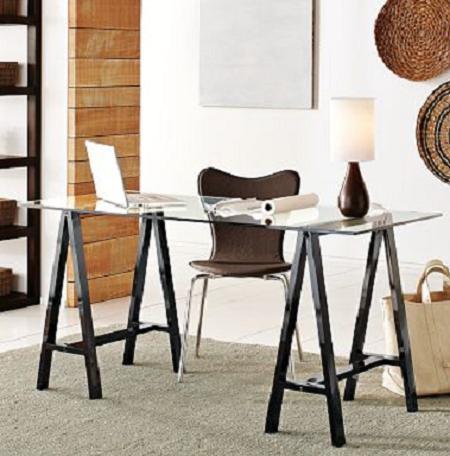 Tablero caballetes la mesa m s improvisada y atractiva - Caballetes para mesas ...