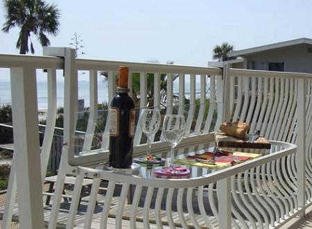 Mesa abatible para el balc n decoraci n - Mesa colgante para balcon ...