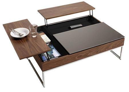 Decoraci n 5 mesas de centro elevables for Mesa salon elevable ikea