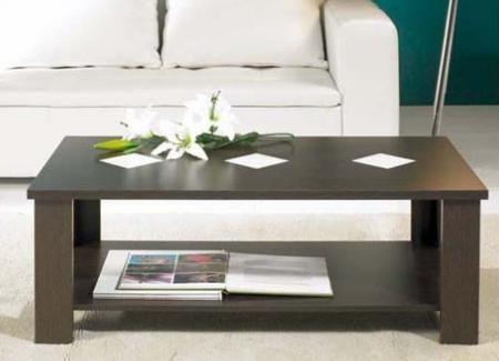 5 mesas de centro baratas decoraci n for Mesas de madera baratas