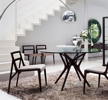 5 mesas de comedor redondas