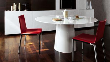Decoraci n 5 mesas de comedor redondas for Mesas de comedor redondas modernas