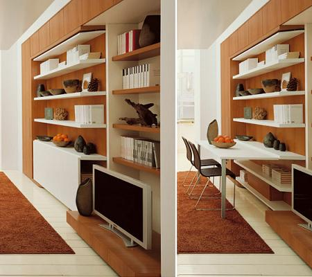 Decoraci n estanter a escritorio y dormitorio un mueble for Decoracion de casa x dentro