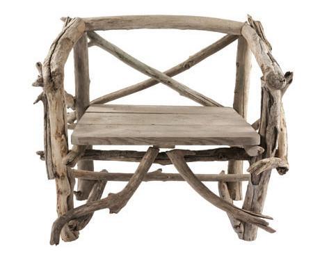 Novedad los muebles hechos con troncos de madera de bleu for Muebles con troncos