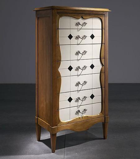 Muebles recibidor muy sofisticados y vintage decoraci n - Muebles de entrada vintage ...