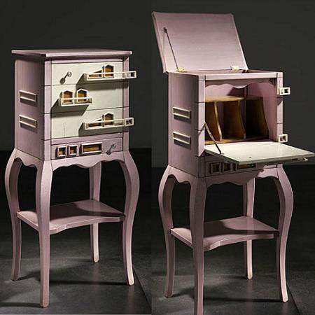 Muebles recibidor muy sofisticados y vintage decoraci n - Muebles recibidor vintage ...