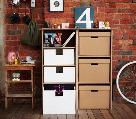 Muebles con cart n decoraci n - Muebles de carton ...