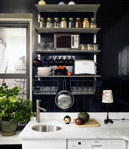 D nde comprar estanter as met licas para tu casa o la oficina decoraci n - Estanterias para la cocina ...