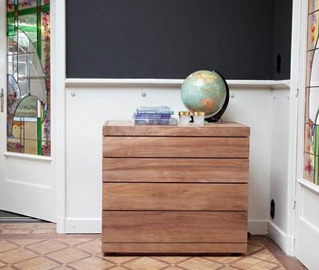 muebles de madera maciza