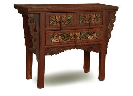 Decoraci n muebles antiguos de inspiraci n oriental - Decoracion muebles antiguos ...