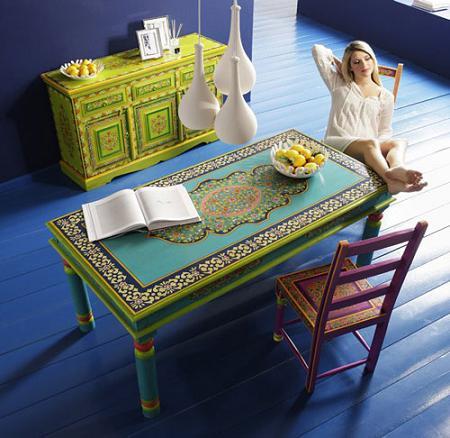 Muebles de colores