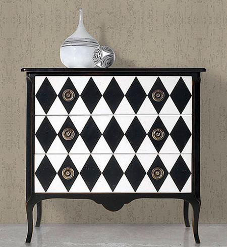 Dale un toque vintage a tu casa con los muebles - Muebles de colores pintados ...