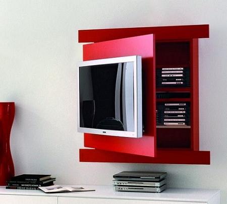 Mueble TV de diseño, con almacenamiento extra!
