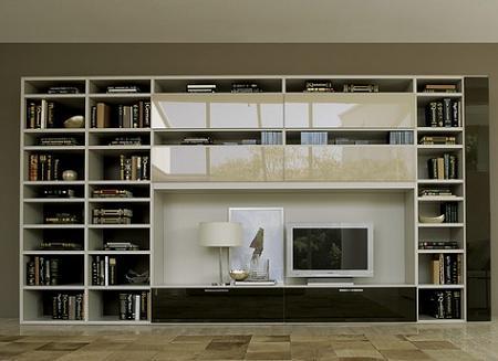 Decoraci n muebles tv con estanter a - Bricorama muebles ...