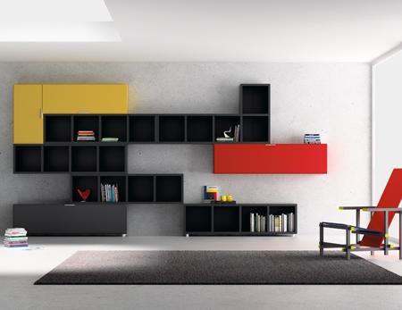 Decoraci n muebles tv modulares muy originales - Bricorama muebles ...